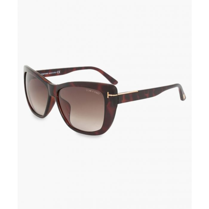Image for Lindsay brown sunglasses