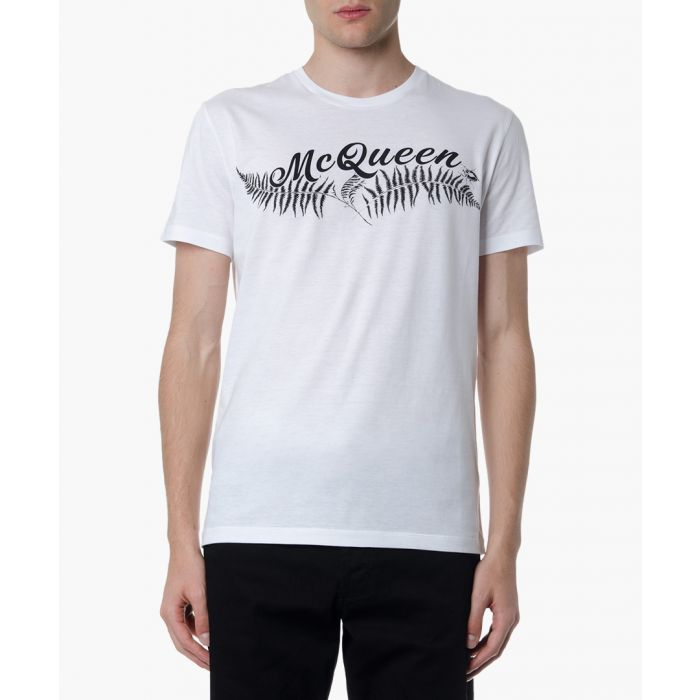 Image for Mc queen white cotton T-shirt