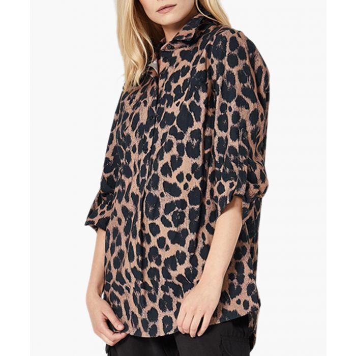 Image for Print pantera woven shirt