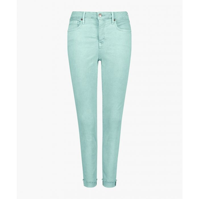 Image for Ami blue daisy skinny ankle jeans