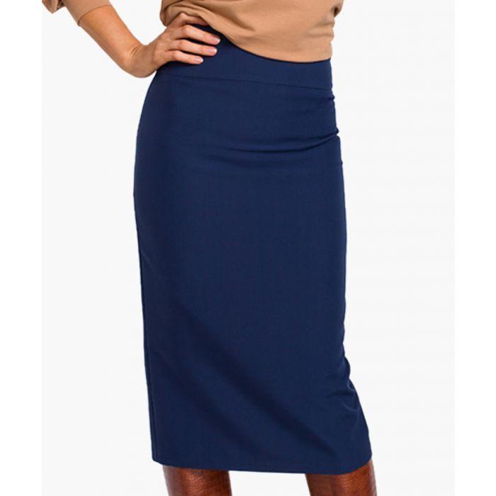 Image for Navy blue skirt