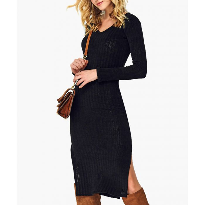 Image for Black Knitted Jumper