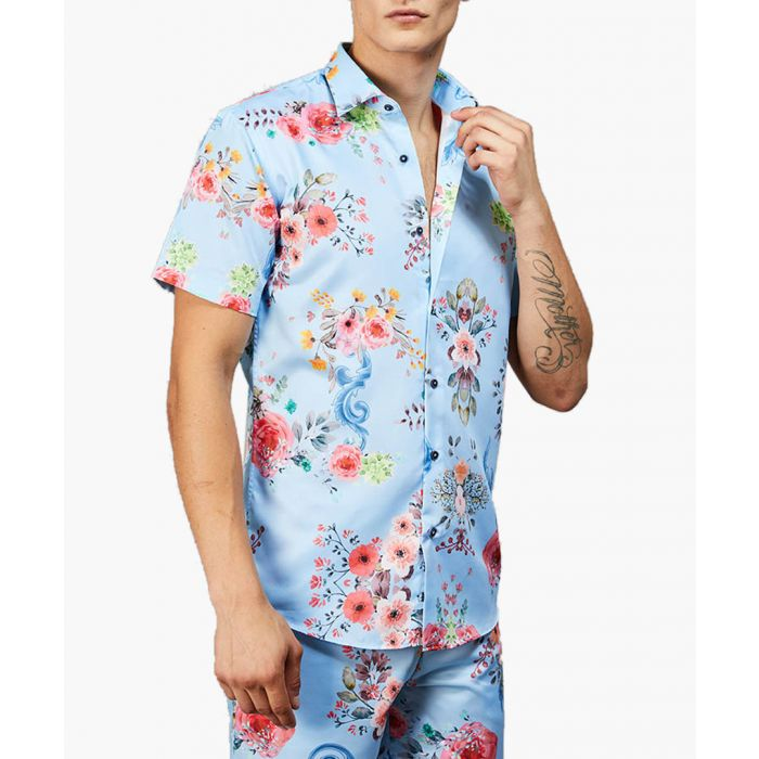 Image for Multi-coloured printed shirt