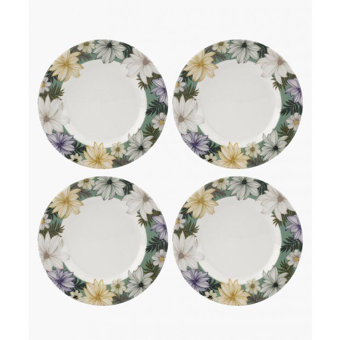 Image for 4pc Atrium plate set 8.75