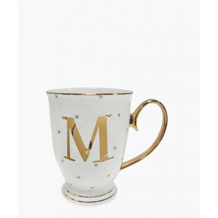 Image for Alphabet Spotty metallic mug