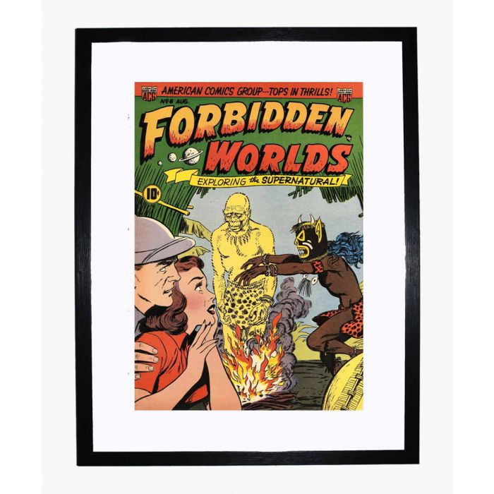 Image for Forbidden Worlds 08 framed print