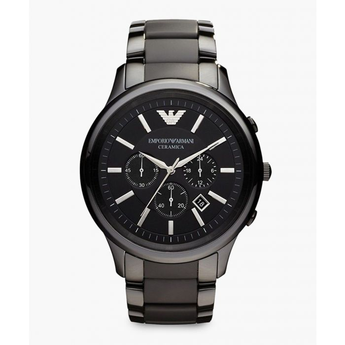 Image for Black chronographic watch