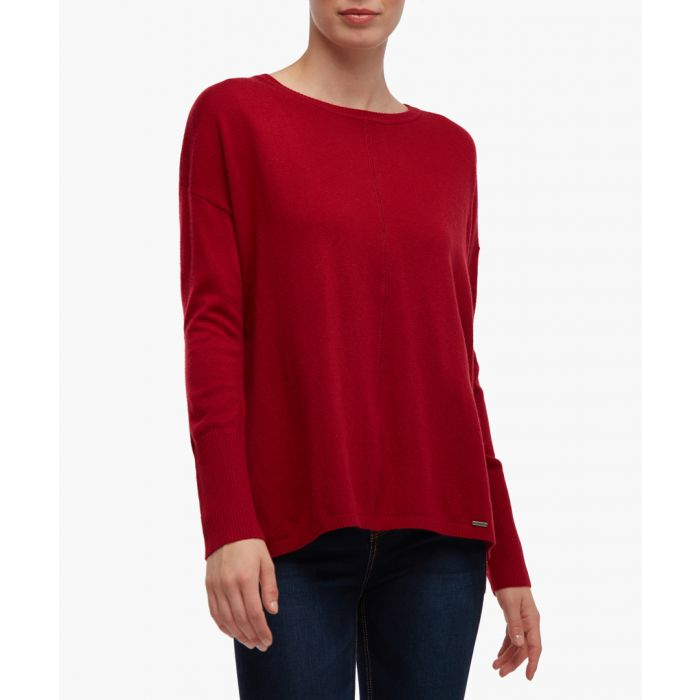 Image for Red long sleeved top