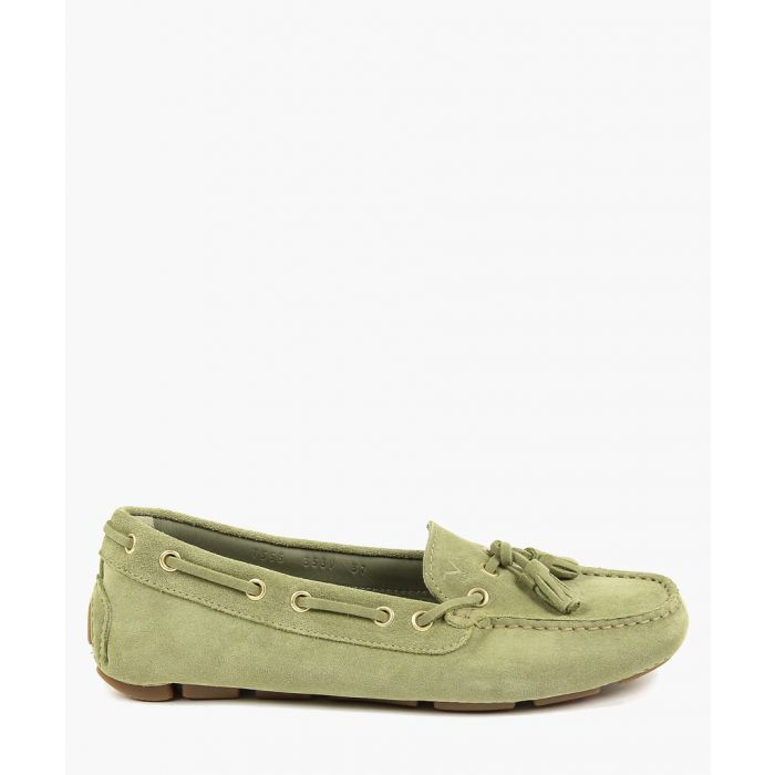 Image for Green loafers