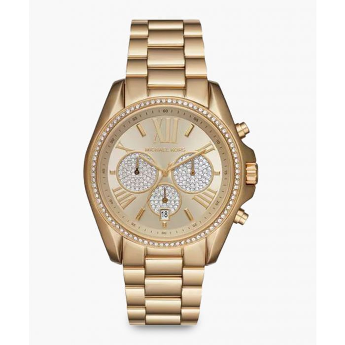 Image for Gold-plated stainless steel watch