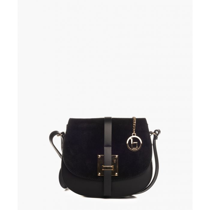 Image for Adda black leather crossbody