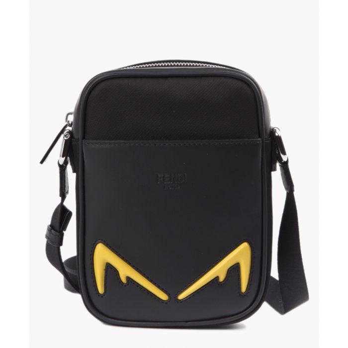 Image for Diabolic eyes leather and nylon purse