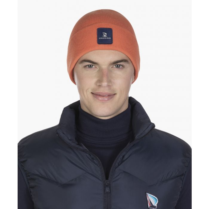 Image for Orange cotton hat