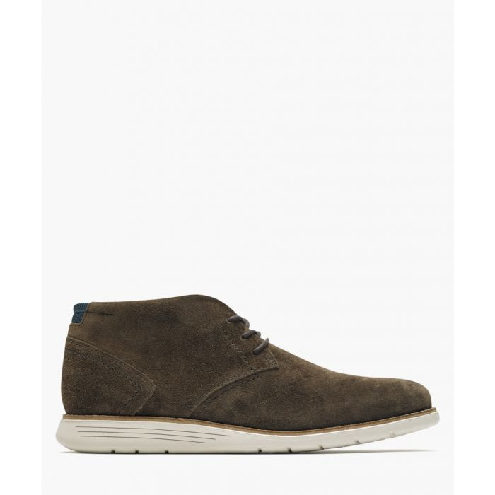 Image for Brown leather Chukka boots