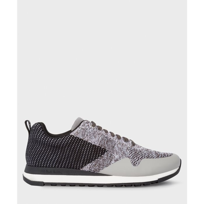 Image for Grey contrast printed sneakers