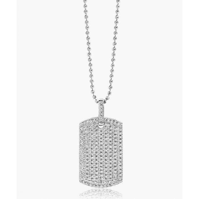 Image for Gemmano Grande white zirconia pendant