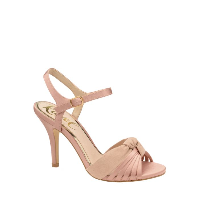 Image for Rose knot peep toe heels
