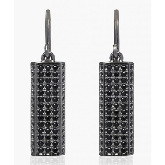 Image for Bacoli Due black rhodium earrings