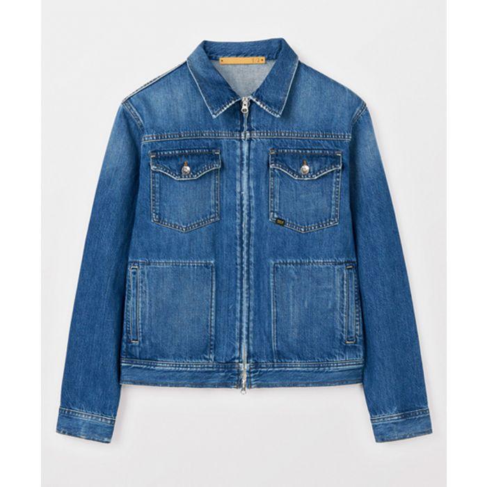 Image for Blue denim jacket