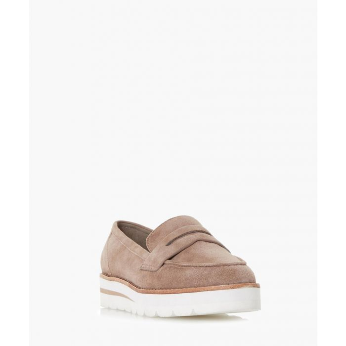 Image for Gabyrel taupe suede loafers