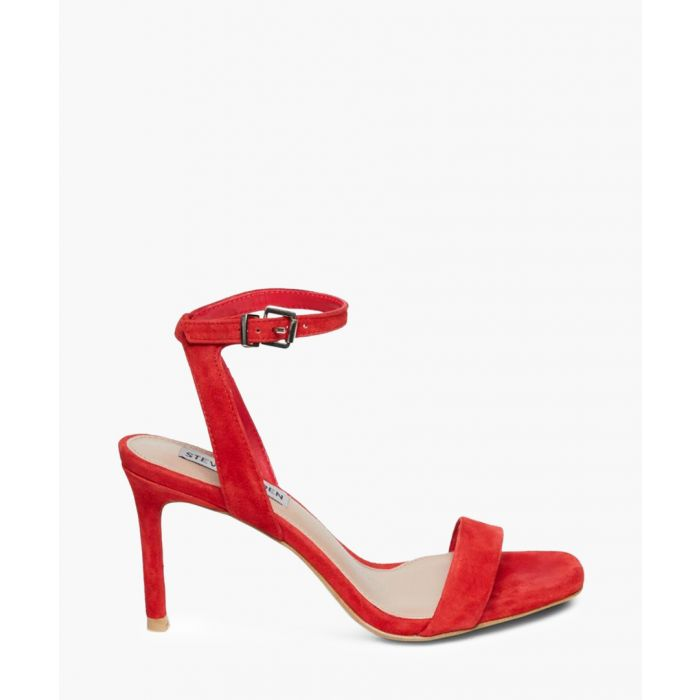 Image for Faith red suede mid-heel sandals