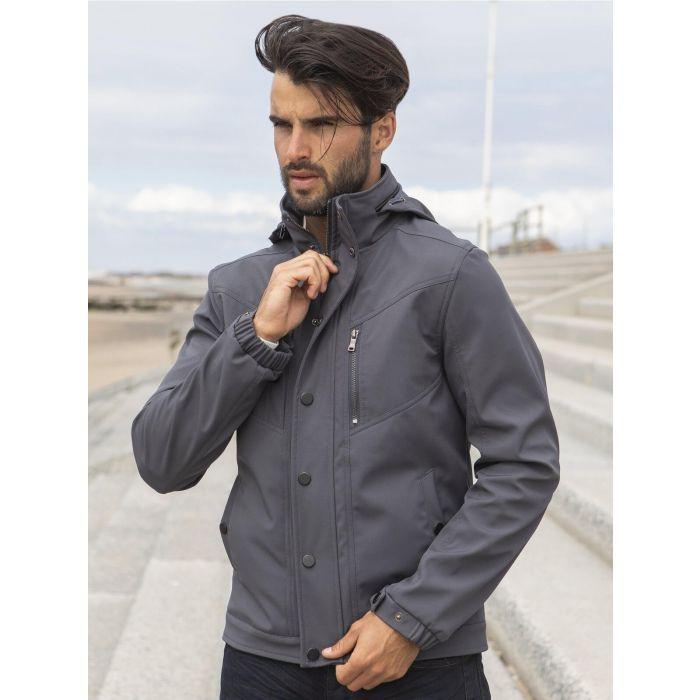 Image for ETO  | Designer Men's Black Zip Jacket Style React