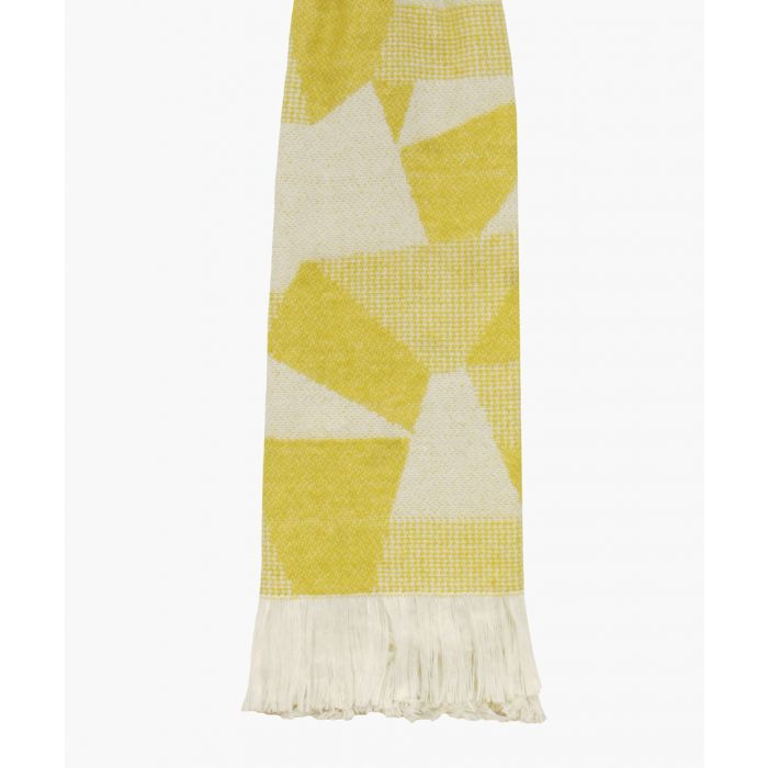 Image for Shard ochre yellow throw