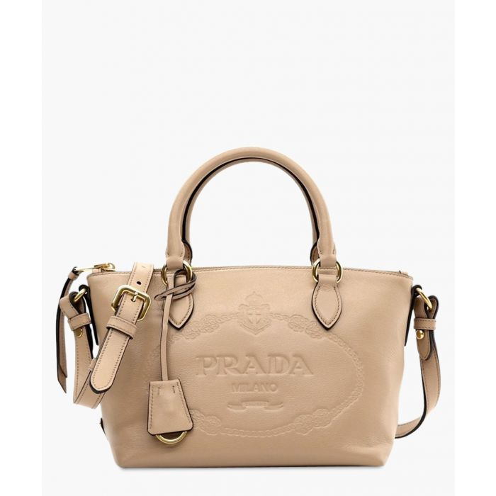 Image for Glace cammeo calf leather shoulder bag