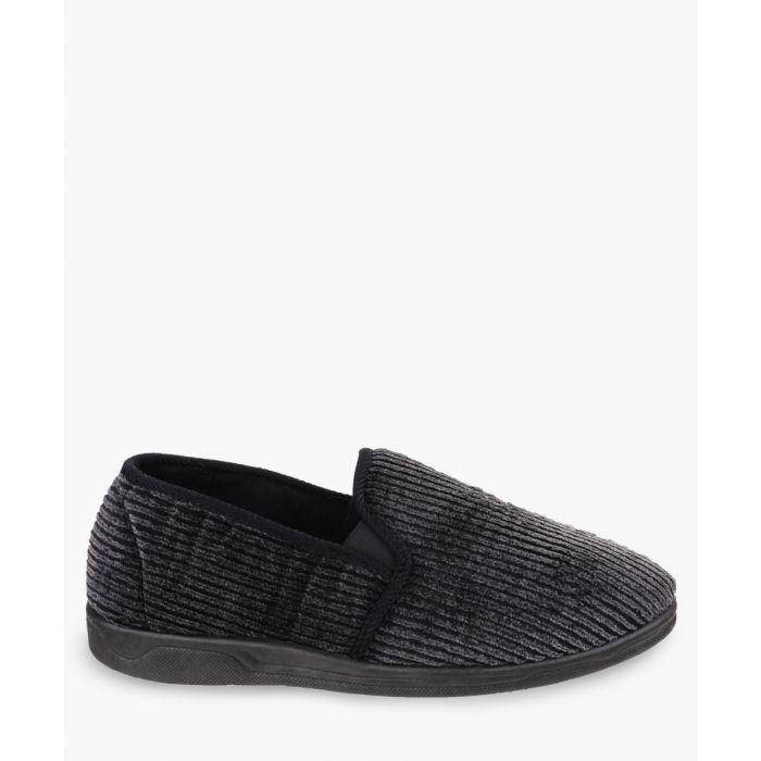 Image for Womens black slippers