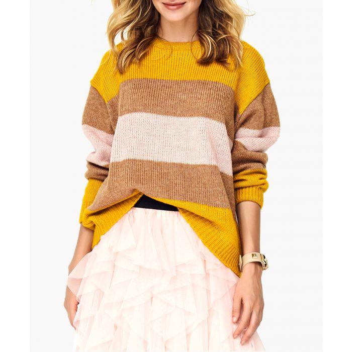 Image for Green wool blend jumper