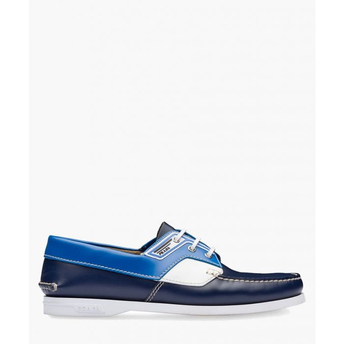 Image for Blue boat shoes