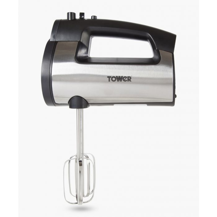 Image for Silver-tone hand mixer