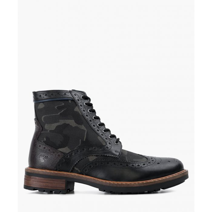 Image for Black leather boots