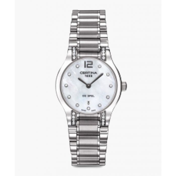 Image for Spel lady 09 silver-tone mother-of-pearl watch