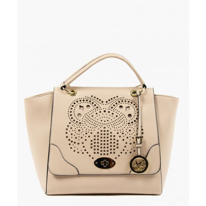 Image for Sand perforated shopper bag