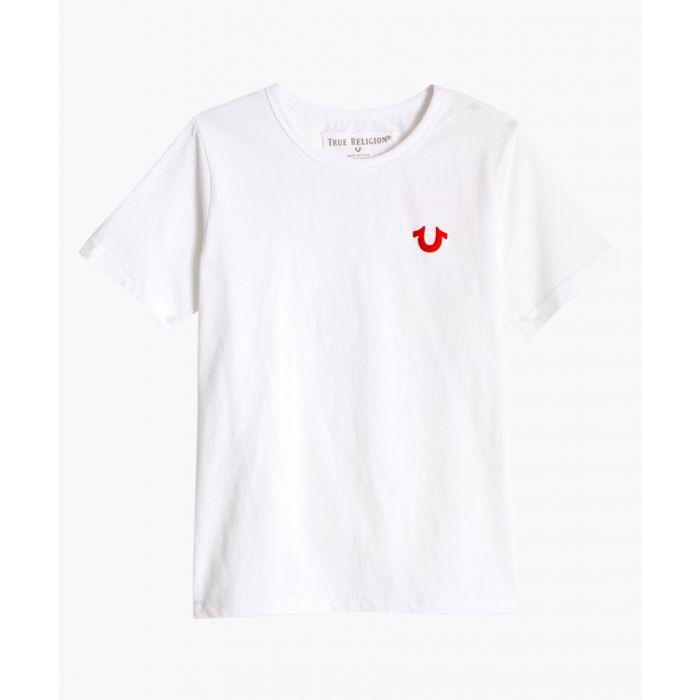 Image for Boys Classic Puff Buddha white cotton T-shirt