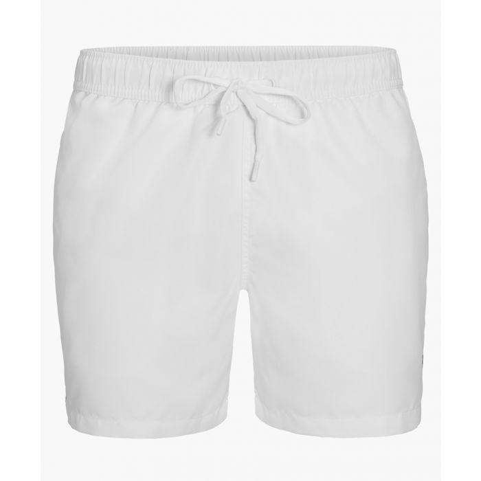 Image for Salem white swim shorts
