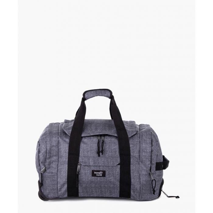 Image for 2pc grey luggage set