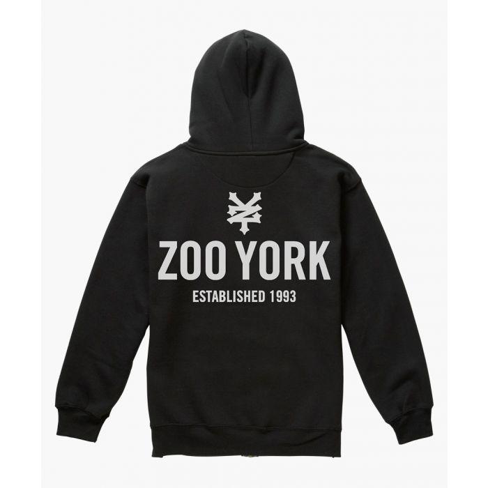 Image for Black zip hoodie