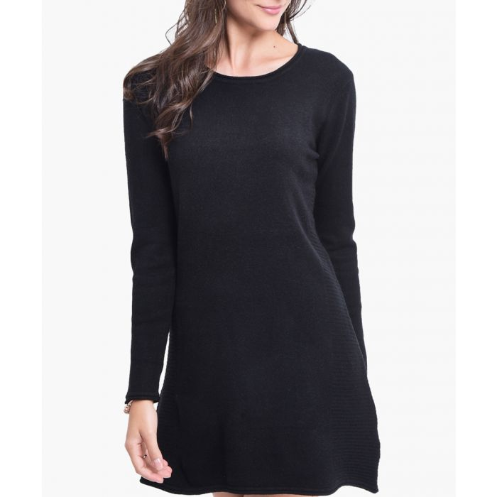 Image for Black cashmere blend tunic
