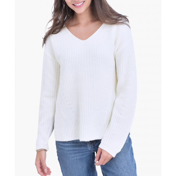 Image for Natural cashmere and mohair blend jumper