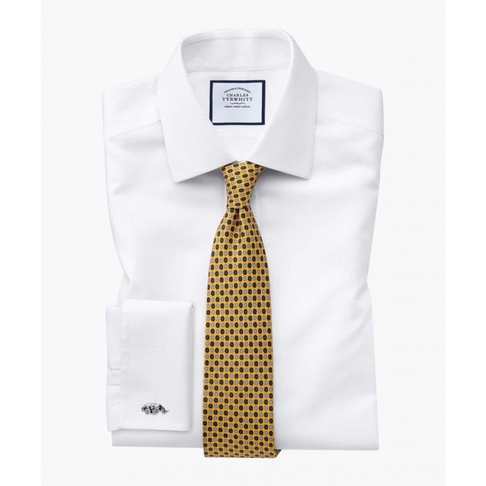 Image for Gold silk printed classic tie