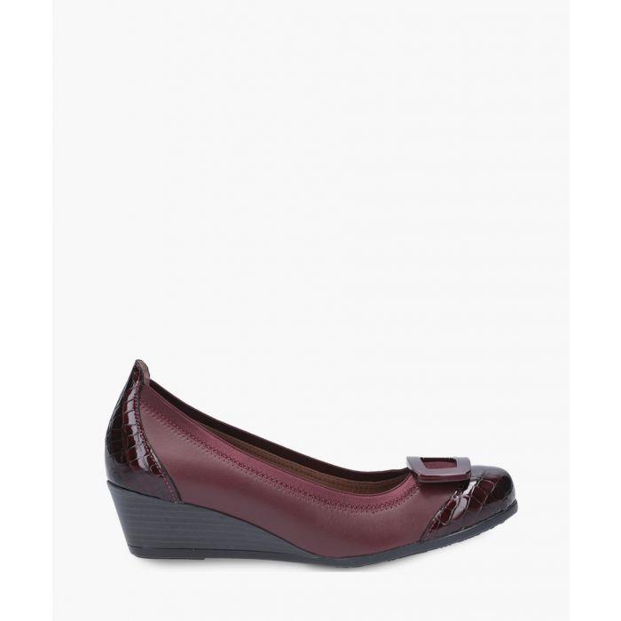 Image for Bordeaux wedge heels