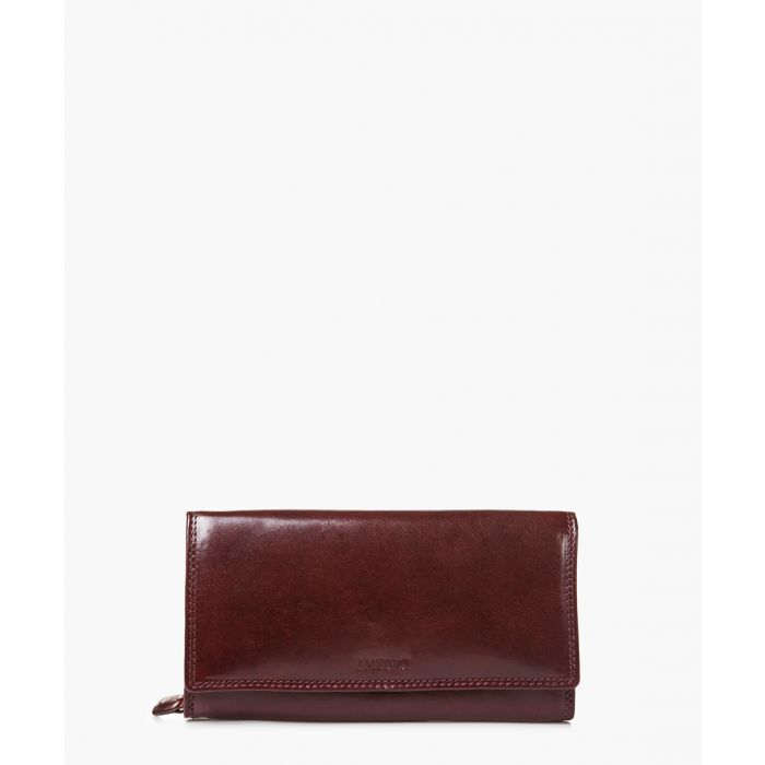 Image for Medici of Florence Purses & Wallets SHINY DARK BROWN