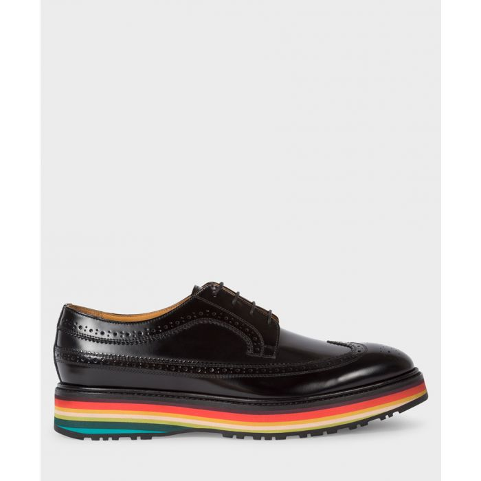 Image for Black leather shoes