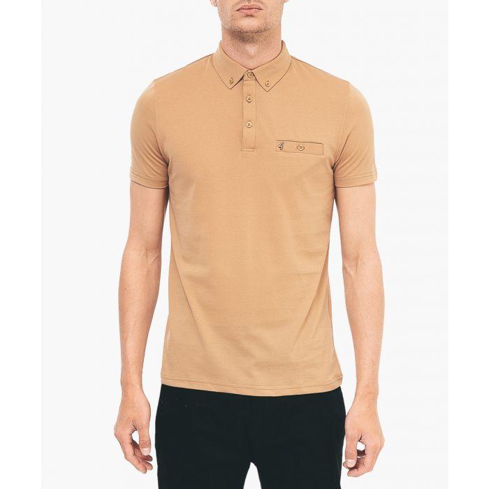 Image for Butterscotch cotton blend polo shirt