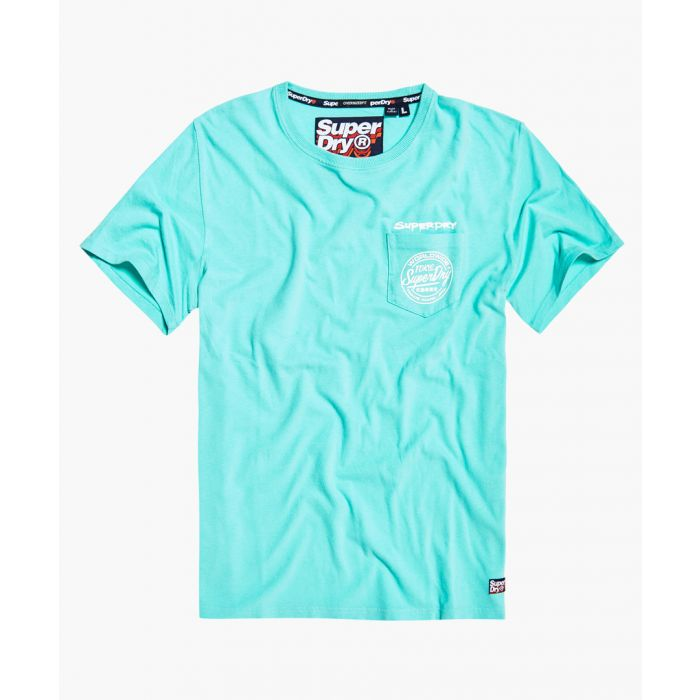 Image for Ticket Type pastel blue pure cotton T-shirt