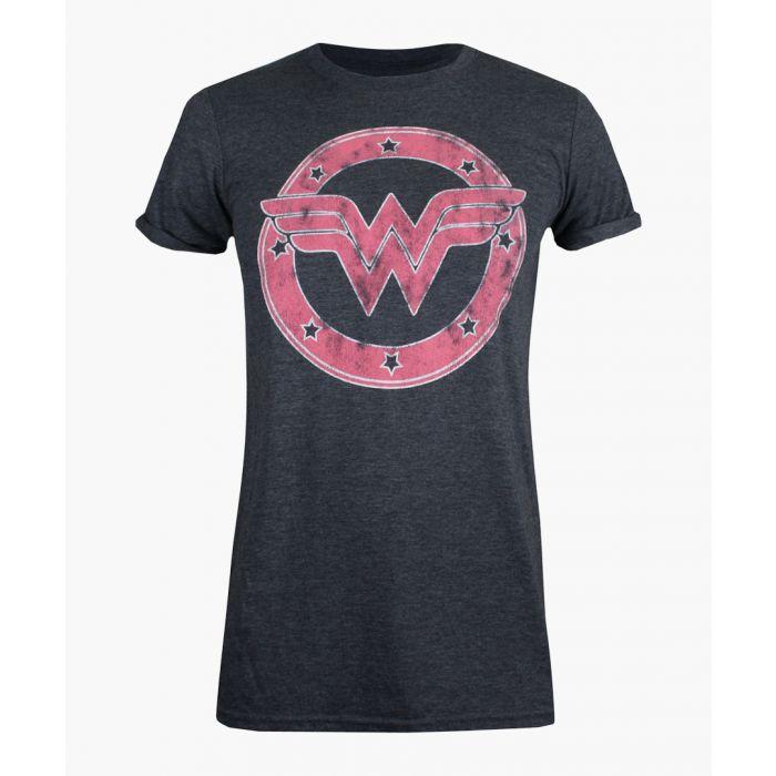 Image for WW emblem grey cotton blend T-shirt