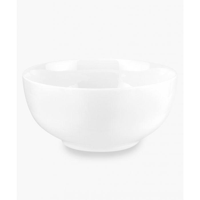 Image for 4pc Serendipity plain white bone china bowl coupe 15cm set