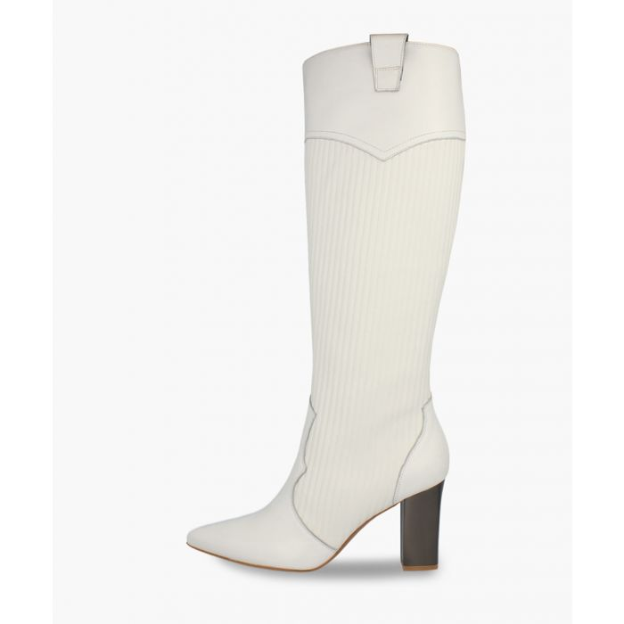 Image for White boots